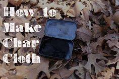 How to Make Char Cloth
