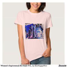 Women's Sapiosexual Art Style T-Shirt
