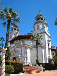Hearst Castle on California coast...right up Hwy 1 from us....