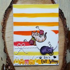 Lawn Fawn, Cardmaking, Cards, Thank You Card