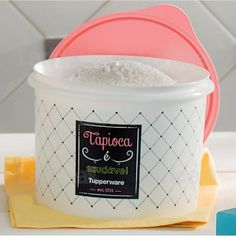 Tupper Caixa Tapioca Bistrô - Tupperware