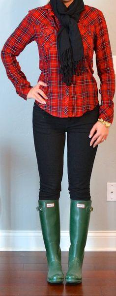 Outfit Posts: (outfits one suitcase: winter vacation capsule wardrobe Yoga Leggings, Floral Leggings, Capri Leggings, Leggings Mode, Plaid Fashion, Hipster Fashion, Womens Fashion, One Suitcase, Denim Jacke