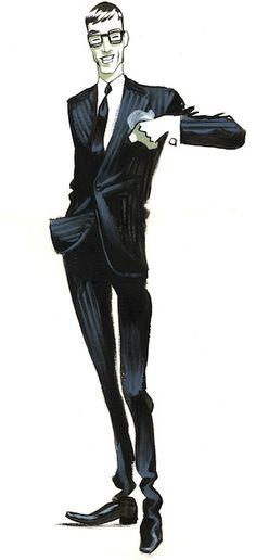 Fashion men by Fernando Vicente, via Behance