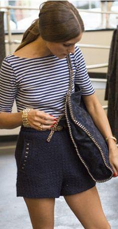 OP: Parisian chic stripes