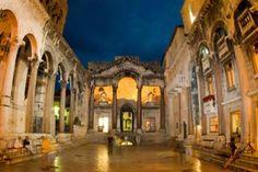 Der Diokletianpalast – hier wohnte einst der ehemalige römische Kaiser Diokletian