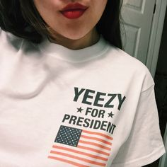 Yeezy For President T-Shirt. @begaj should I??