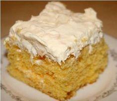 Mandarin orange cake recipe:  A delicious and easy cake recipe