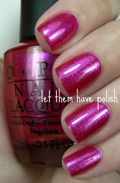 Opi nail polish in Be a dahlia won't you Best voted OPI Nail Polish Lacquer #nail #polish @opulentnails #OPI
