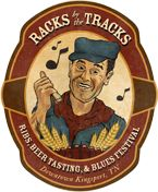"Official Racks by the Tracks Ribs, Beer, and Blues Festival.     ""Bringing together our community to enjoy uncommonly great music, ribs, and breweries.""    Saturday, May 19th - Downtown Kingsport, TN"