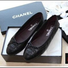 """Spotted while shopping on Poshmark: """"New Chanel flats""""! #poshmark #fashion #shopping #style #CHANEL #Shoes"""