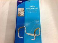 Carex Health Brands Toilet Support Rail B36800