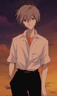 Girls Anime, Anime Couples Manga, Cute Anime Couples, Anime Guys, Manga Anime, Art Manga, Anime Art, Neon Genesis Evangelion, Evangelion Tattoo