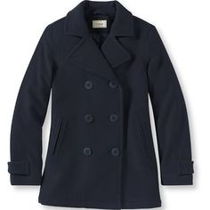 Virgo: Navy Pea Coat