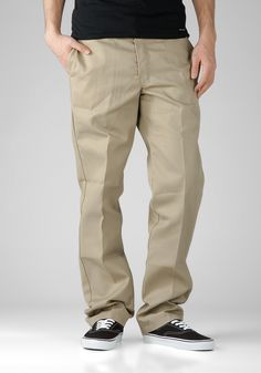 DICKIES Slim O-Dog 873 khaki, Chinos,