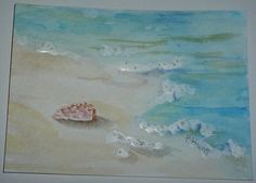 ©Illustration for a notecard-Pam Hunt-watercolor https://www.flickr.com/photos/thistleknitter/shares/98KgAh | pammiecamp2003's photos