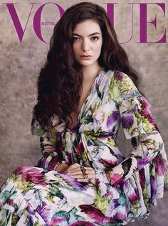 Lorde, 2015. Vogue Australia Cover.