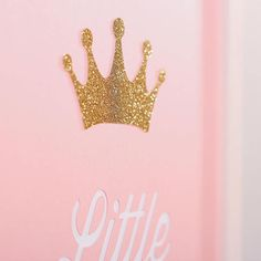 3 set for Girls B. Set of 3 wall pictures for girls, made of special, thick, creative paper, with effect (it's not printed). Pink metallic and golden glitter paper is used. Nursery Decor Boy, Nursery Room, Room Baby, Girl Room, Golden Glitter, Baby Presents, Wall Pictures, Little Princess, Picture Wall