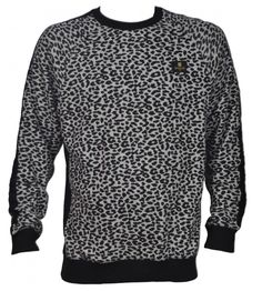 Crooks & Castles 'Cheater' Sweater in Grey Speckle