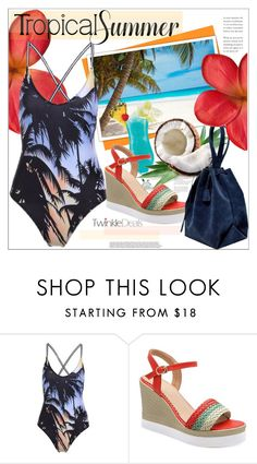 """tropical Summer"" by mycherryblossom ❤ liked on Polyvore featuring vintage"