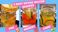 3 detox water recipes for quick weight loss, health and beautiful skin – watch video Cut Weight Fast, Quick Weight Loss Diet, Help Losing Weight, Need To Lose Weight, Reduce Weight, Lose Weight Naturally, Water Recipes, Fat, Diet Tips