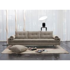 The Chicago Sofa is comfy and versatile. The Bolster armrests and clean tufting come together in these classic lines, bringing a sophisticated style and comfort to any room.