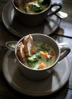 Vege & Cheese Soup