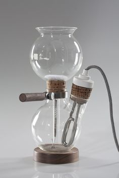 davide mateus' cafe balao coffee maker brews with chemistry kit carafes