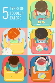 The Artiste, the Refusenik, the Entertainer, the Hoarder, and the Hoover ... what kind of eater is your toddler?