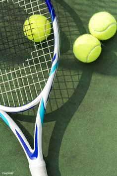 Tennis balls on a tennis court by rawpixel on Mode Tennis, Tennis Shop, Tennis Rules, Pro Tennis, Lawn Tennis, Tennis Tips, Tennis Match, Tennis Wear, Tennis Wallpaper