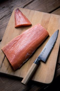 Weekend Project: Smoked Salmon.  a good smoked salmon recipe to try.  Does it on the stove not in an oudoor smoker.