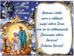 Asemeni stelei care a călăuzit magii către Iisus, asa sa te călăuzească Dumnezeu către fericire! Christmas And New Year, Christmas Time, Christmas Cards, Christmas Ornaments, Christmas Messages, Merry Xmas, Holidays And Events, Diy And Crafts, Religion