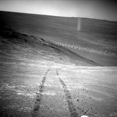 Opportunity's Devilish View from on High