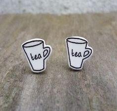 'Tea' Mug Earrings