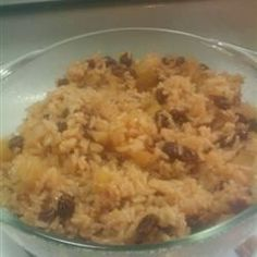 Surprise everyone with this delicious recipe made with white rice and apples, and seasoned with cinnamon. Goes great with a white meat main dish, and is a nice change from traditional rice dishes.