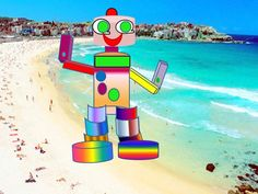 Robot for the beach