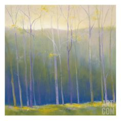 Spring Leaves Giclee Print by Teri Jonas at Art.com