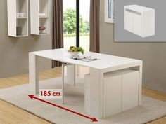 Table à manger ODEAN 6 couverts pas cher Gris foncé   Gris clair ... b601e4d11845