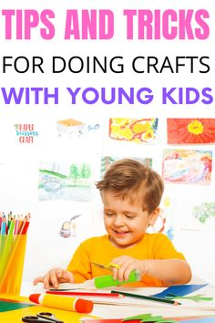 Easy Toddler Crafts, Quick Crafts, Crafts To Do, Kids Learning Activities, Preschool Activities, Preschool Crafts, Kids Crafts, Parenting Toddlers, Craft Box