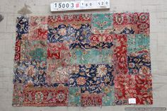 Handmade patchwork rug from persian rugs Cheap Rugs, Patchwork Rugs, Persian Rug, Bohemian Rug, Traditional, Contemporary, Unique, Handmade, Vintage