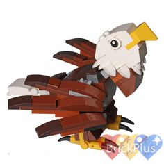 LEGO Bald Eagle from 4002014 HUB Birds - Assembled State #LEGO