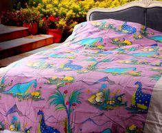 Dinosaur Mummy Purple Dinosaur Bedding Set Dinosaur Bedding, Purple Pattern, Cartoon Styles, Duvet Cover Sets, Bedding Sets, Comforters, Living Spaces, Blanket, Pillows