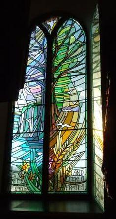 'The Meston Memorial Window'  Dunnottar Kirk, Stonehaven