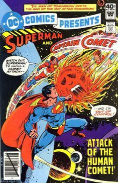Superman & Captain Comet
