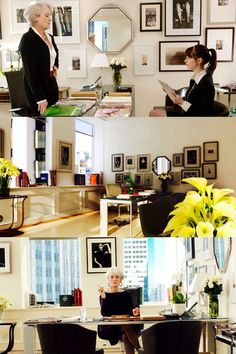 Miranda Priestley & Anna Wintour's Office