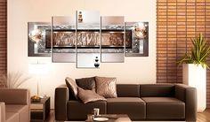 Impression sur toile 200x100 cm - Grand format - XXL - 3 couleurs au choix- 5 pieces - Image sur toile - Images - Photo - Tableau - motif moderne - Décoration - pret a accrocher - abstraction abstrait 020101-216 200x100 cm: Amazon.fr: Cuisine & Maison