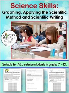 Graphing, Scientific Method and Scientific Writing 7th Grade Science, Science Student, Middle School Science, Teaching Science, Earth Science Lessons, Science Resources, Life Science, Science Quotes, Teaching Scientific Method