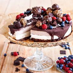 Raw-tårta med choklad | Tidningen Hembakat