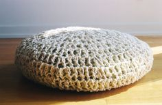 Oversized Handcrafted Natural Colored Wool Floor by AllThingsJoy