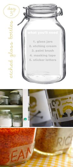 etching glass | I really wanna give this a try. :) Especially when I have my own place so I can just reach and grab.