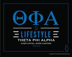 Theta Phi Alpha Lifestyle Poster